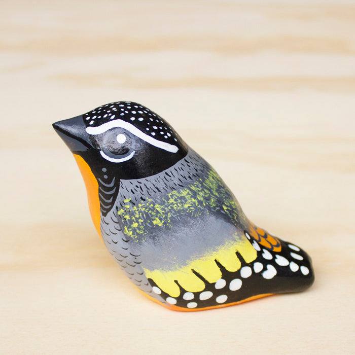Spotted Pardalote Paperweight Whistle - Handmade, Australian Birdlife, Songbird - Birds that make your heart sing...