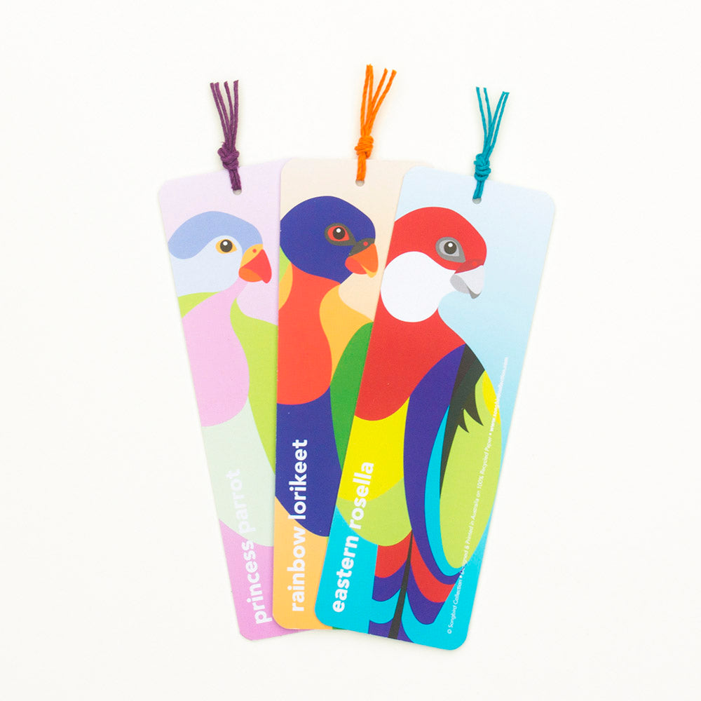 Parrot Family Bookmark