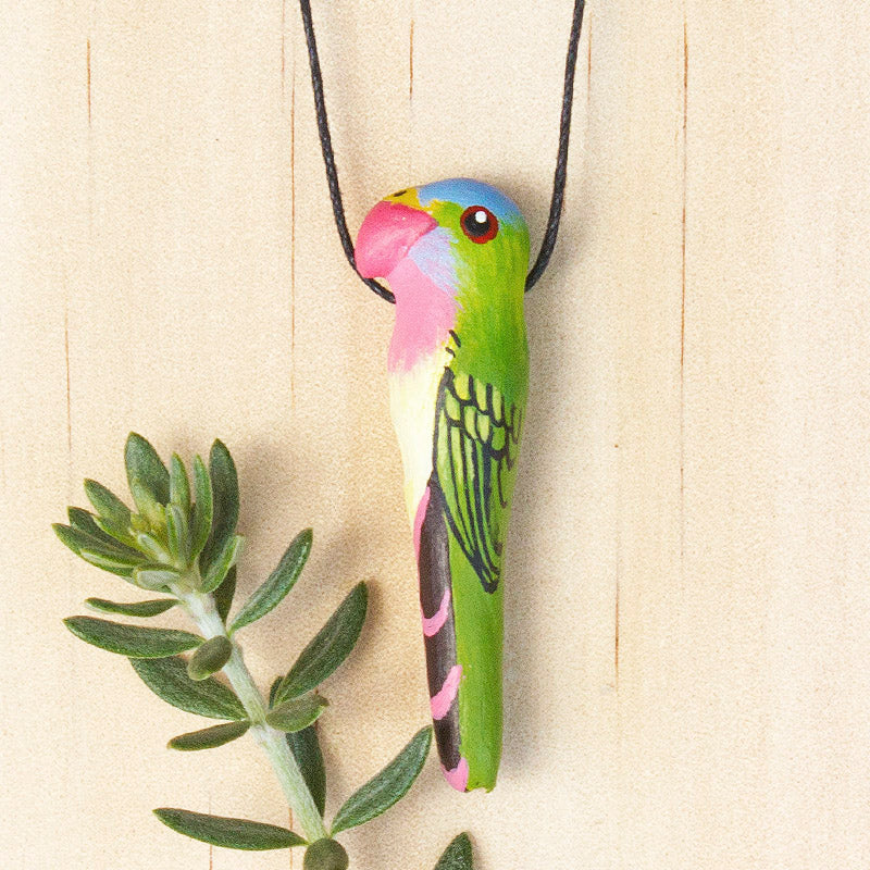 Princess Parrot Whistle Necklace