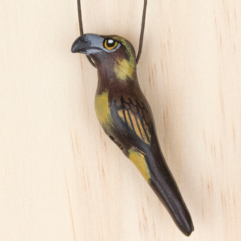 Wedge-Tailed Eagle Whistle Necklace