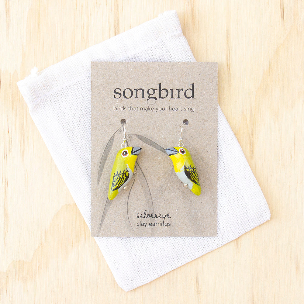 Silvereye Earrings