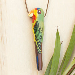 Swift Parrot Necklace