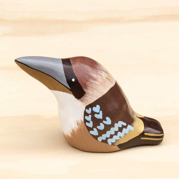 Laughing Kookaburra Paperweight Whistle