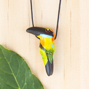 Rainbow Bee-Eater Whistle Necklace