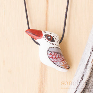 Caspian Tern Whistle Necklace