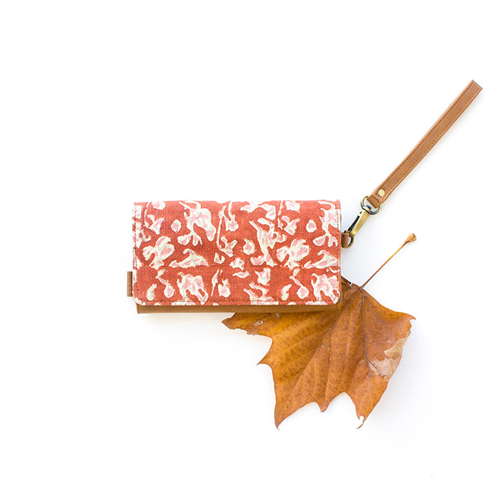 Autumn Shadow Vegan Leather Wallet by JOYN Bags, Songbird Australia