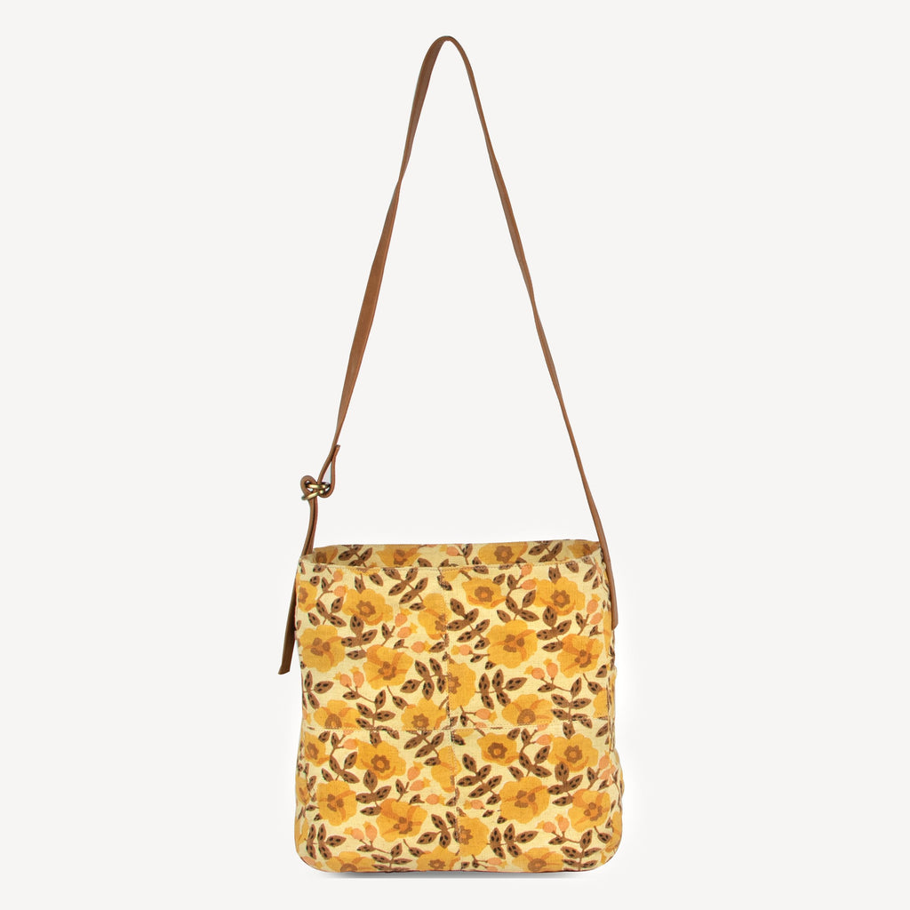 Golden Blossom Shoulder Bag by JOYN