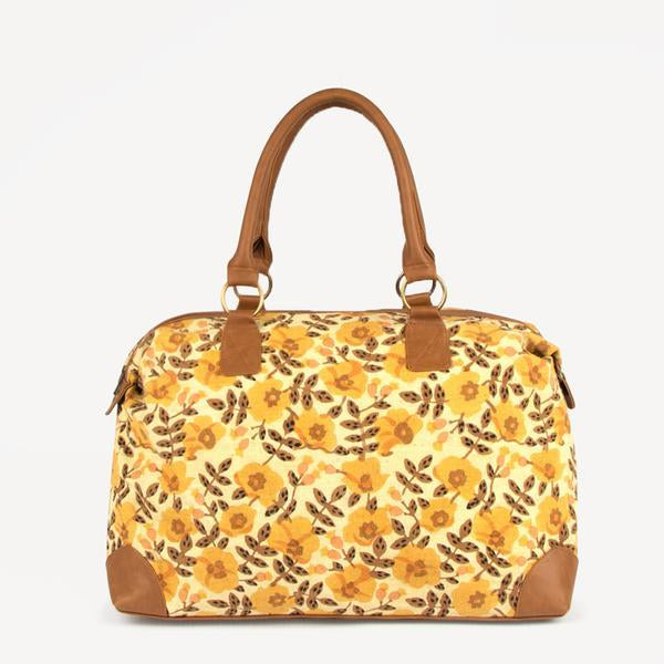 Golden Blossom Overnight Bag