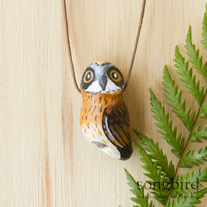Morepork Whistle Necklace