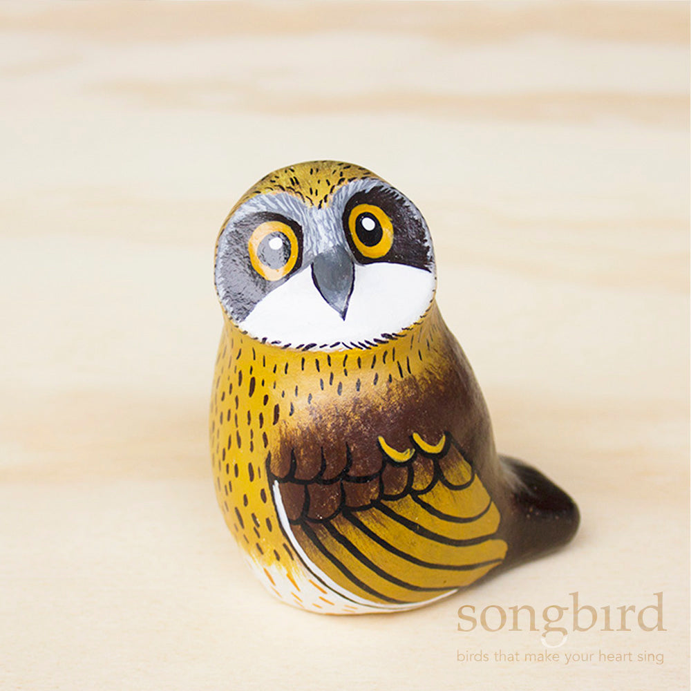Morepork Paperweight Whistle