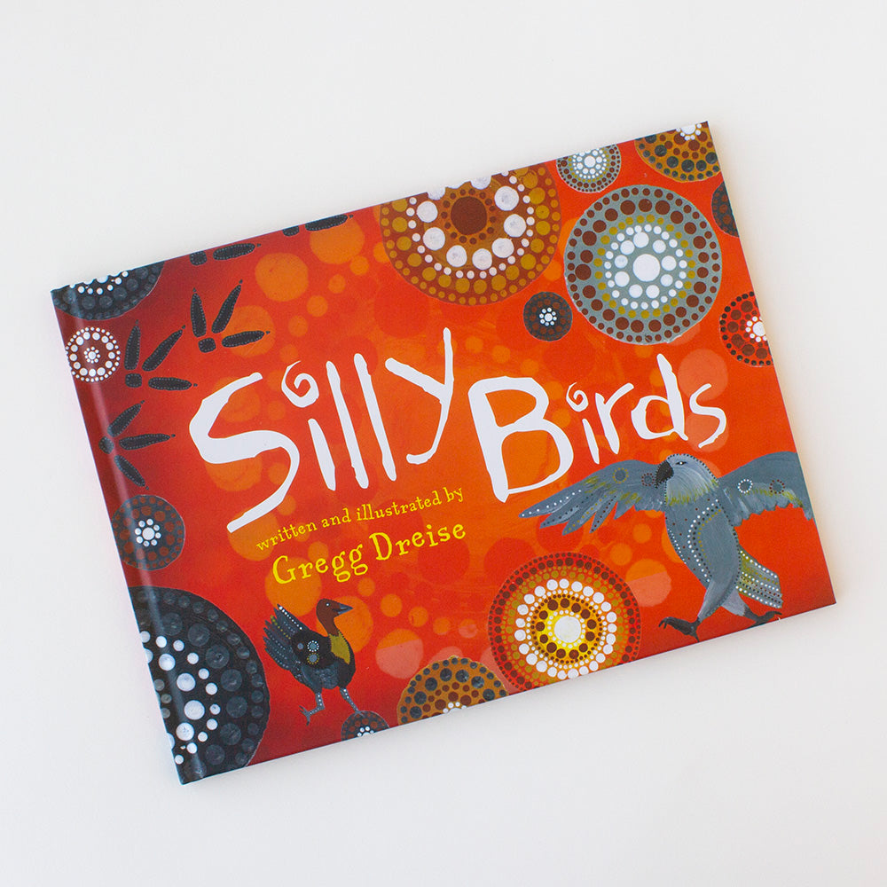 Silly Birds by Gregg Dreise, Jewellery & Gifts for Bird Lovers, Songbird Collection Australia
