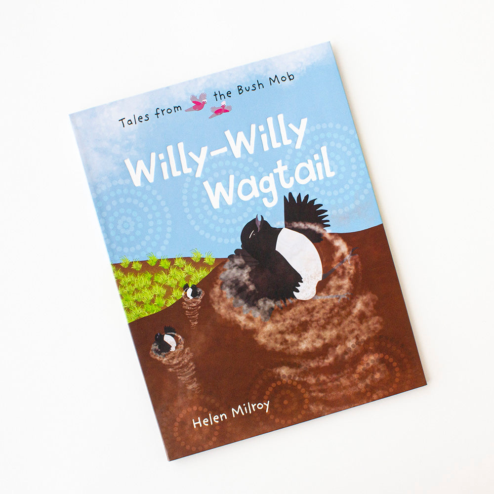 Willie Wagtail by Helen Milroy