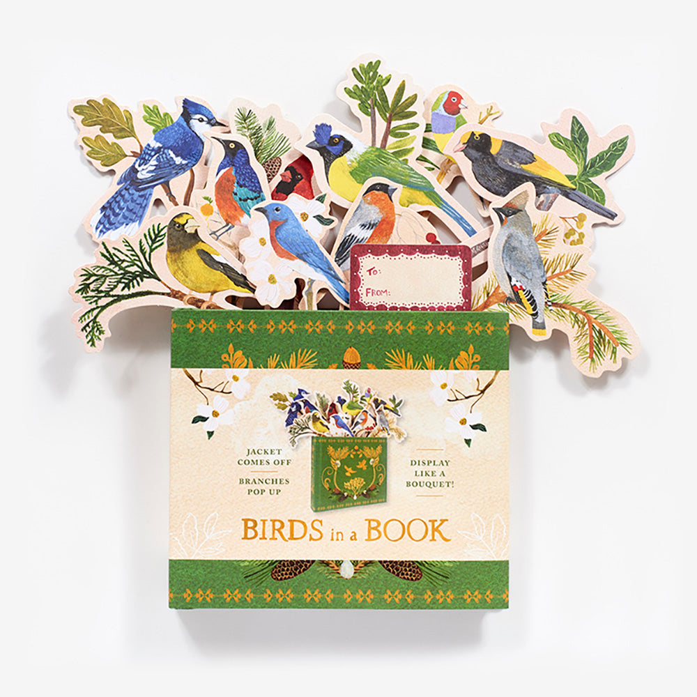 Birds in a Book - Bouquet, by Lesley Earle, Songbird Collection Australia