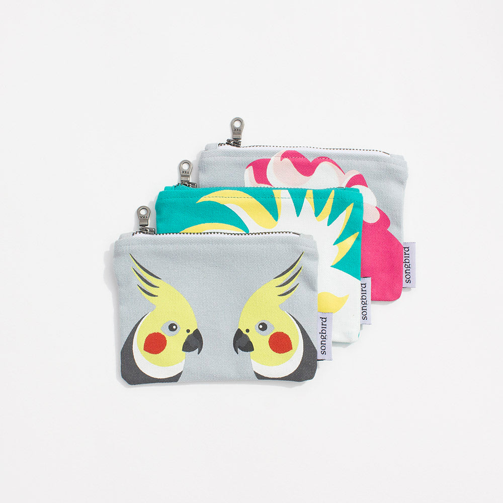Cockatoo Family Purse