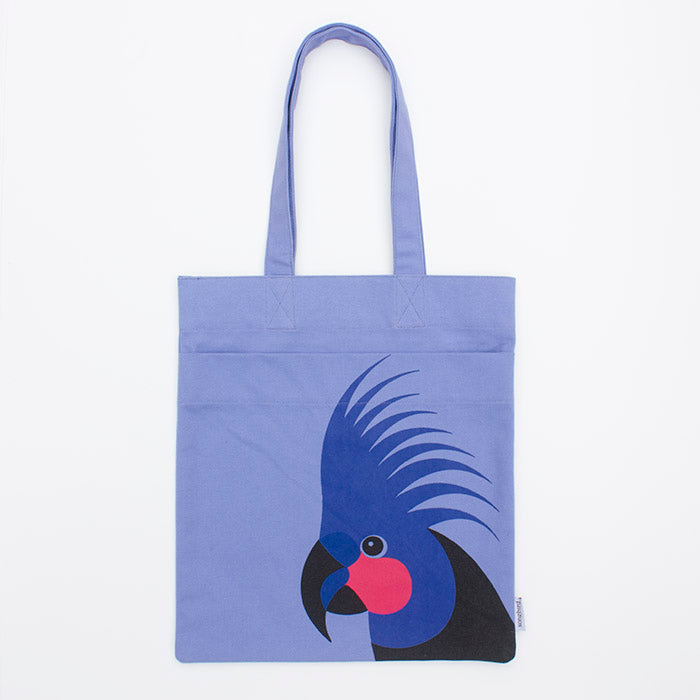 Palm Cockatoo Pocket Tote