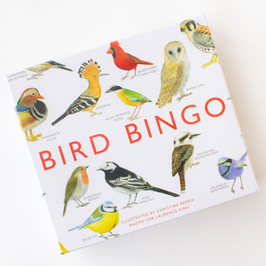 Bird Bingo Game by Christine Berrie, Jewellery & Gifts for Bird Lovers, Songbird Collection Australia
