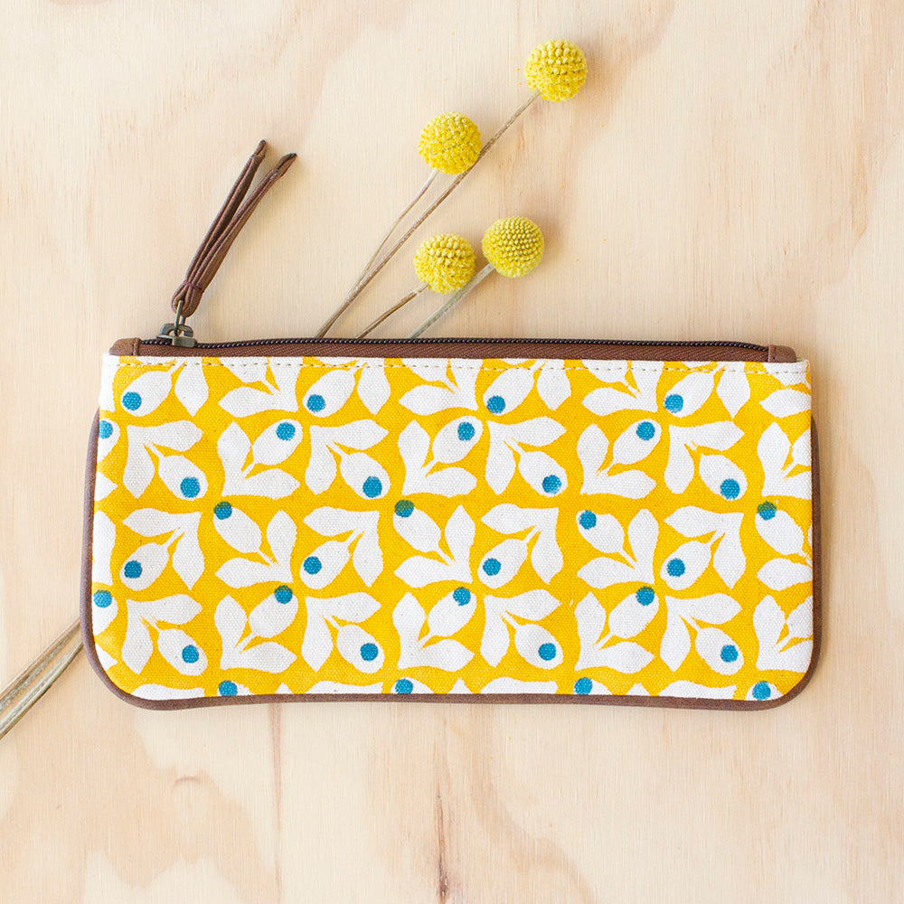 Yellow Bloom Purse by JOYN, Jewellery & Gifts for Bird Lovers, Songbird Collection