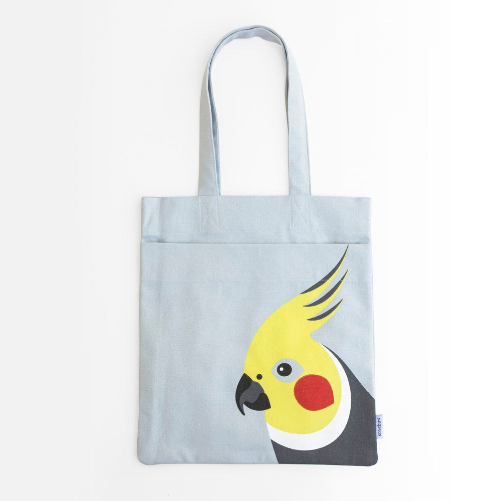 Cockatiel Pocket Tote