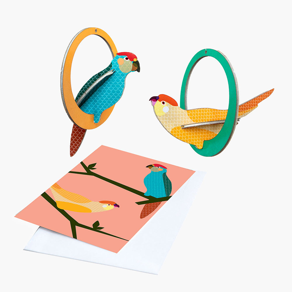 Mobile & Card by Studio Roof, Jewellery & Gifts for Bird Lovers, Songbird Collection Australia
