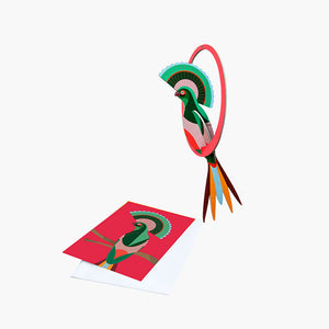 Bird of Paradise - Gili, Gift Card & Mobile,, Recycled Paper, Designed in the Netherlands by Studio Roof, Songbird Australia