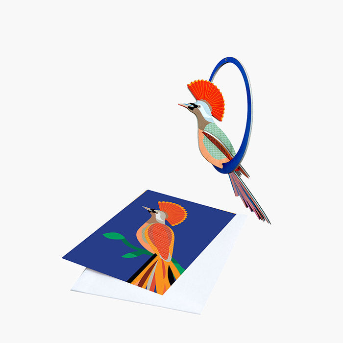 Bird of Paradise - Crowned Obi, Card & Mobile