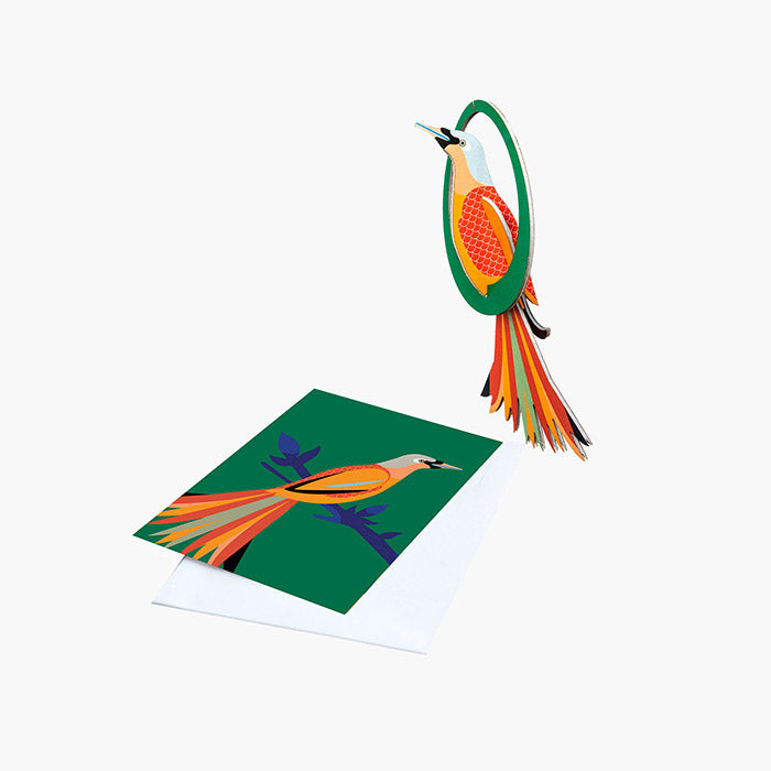Bird of Paradise - Lady Obi, Card & Mobile