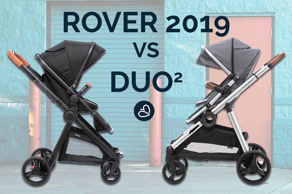 Compare The Pram: Babybee ROVER 2019 VS DUO2