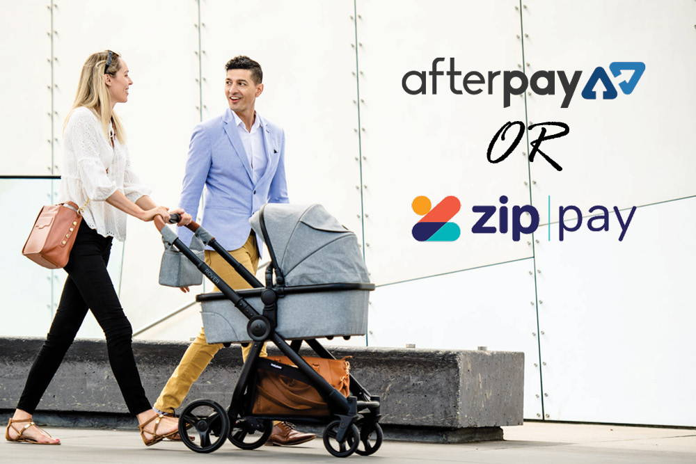 Looking to Afterpay or ZipPay your pram? Follow this handy guide to decide which instalment plan is right for you