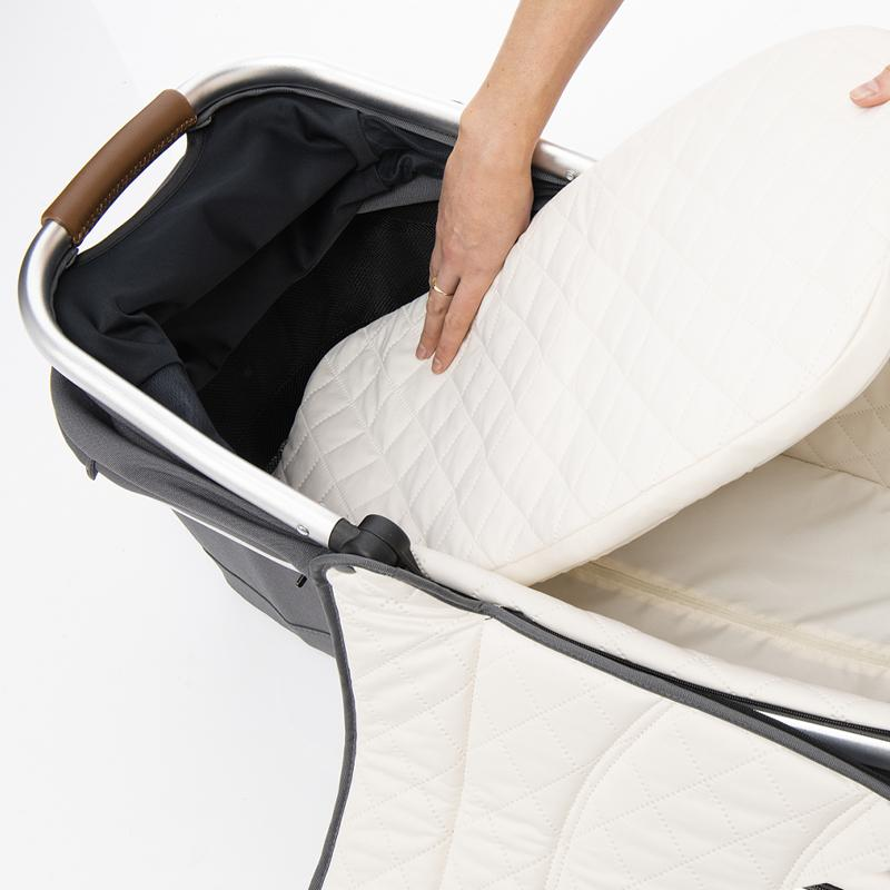 duo2 bassinet - Black