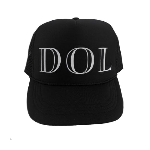 Duke of London Trucker Cap - Black
