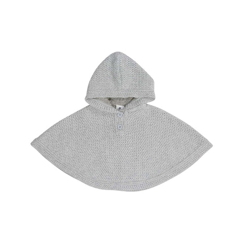 Korango Knit Hooded Poncho