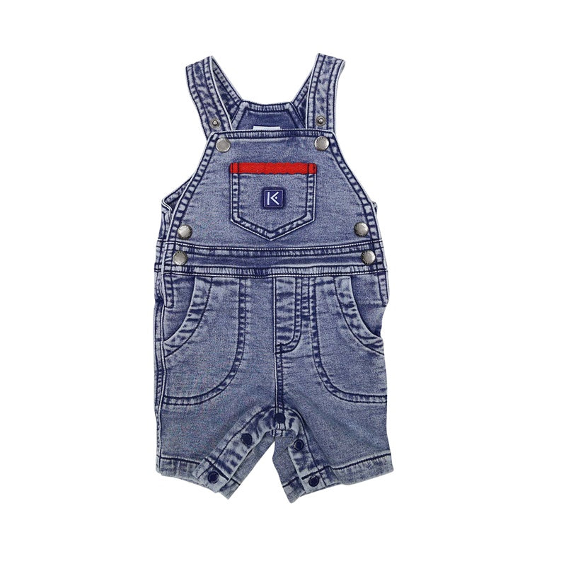 Korango Summer Denim Knit Overalls
