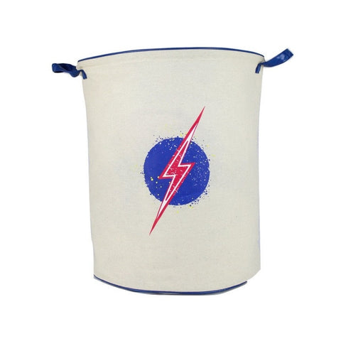 Apple & Mint Storage Basket - Lightning Bolt