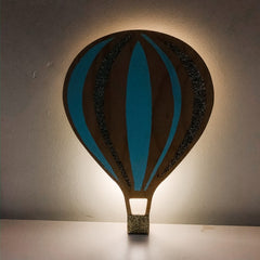 Hot Air Balloon Night Light - Mint