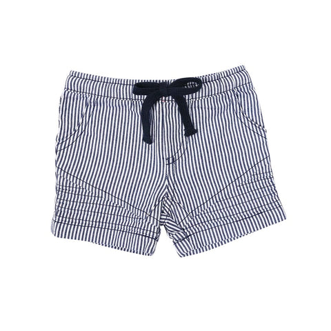 Korango Camper Van Ticking Stripe Shorts