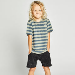 Munster Kids Mud Shorts - BLack