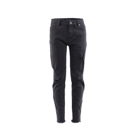 St Goliath Chaser Distressed Jean - Black
