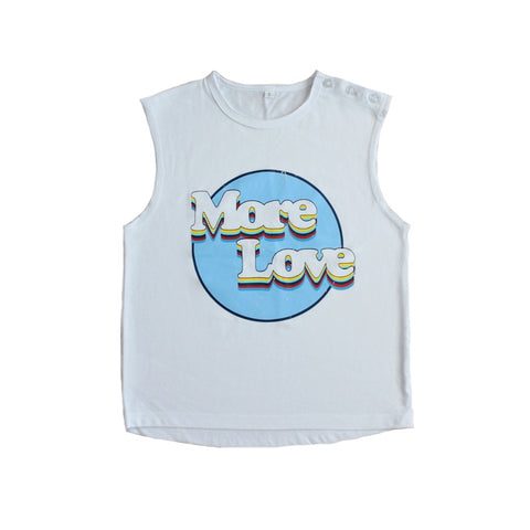 Duke of London More Love Muscle Top
