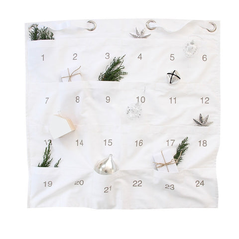 Advent Calendar - White