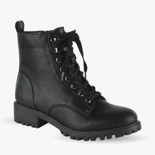 Headstrong Lace Up Combat Boots