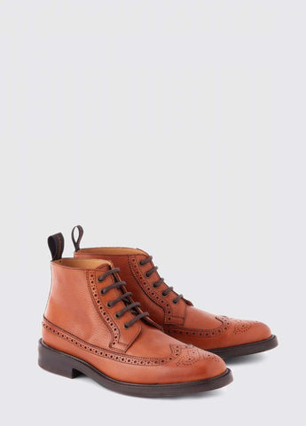 Down Brogue Rubber Resole and Heel