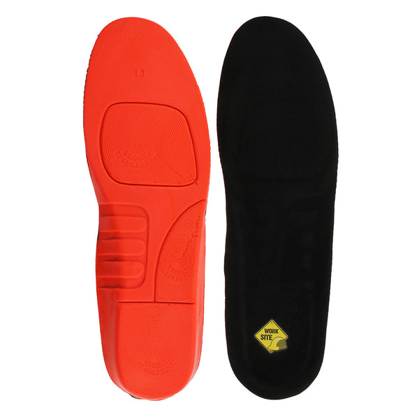 Shock Absorbing Work Site Insoles