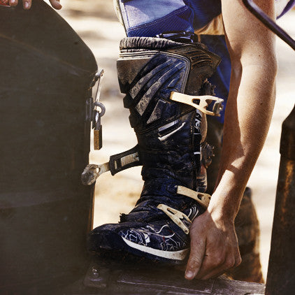 Motocross boot repairs