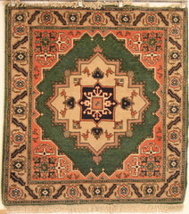 Persian Ardebil Hand-knotted Rug Wool on Cotton (ID 203)
