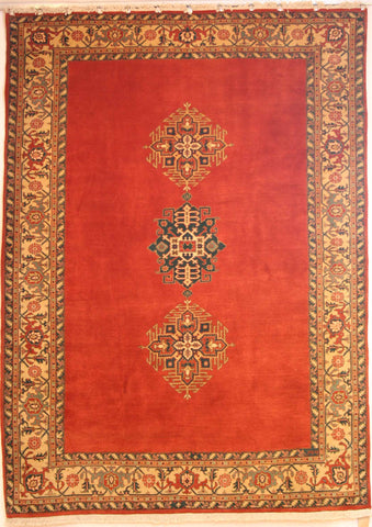 Persian Ardebil Hand-knotted Rug Wool on Cotton (ID 289)