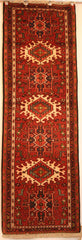 Persian Ardebil Hand-knotted Runner Wool on Cotton (ID 1057)