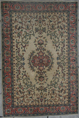 Persian Ardebil Hand-knotted Rug Wool on Cotton (ID 1223)