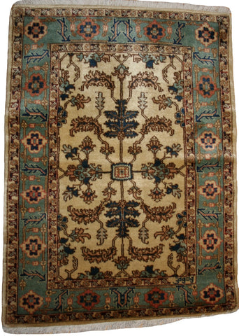 Persian Ardebil Hand-knotted Rug Wool on Cotton (ID 1313)