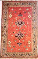 Persian Ardebil Hand-knotted Rug Wool on Cotton (ID 294)