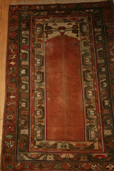 Azerbijan Baku Hand-knotted Rug Wool on Wool (ID 1307)